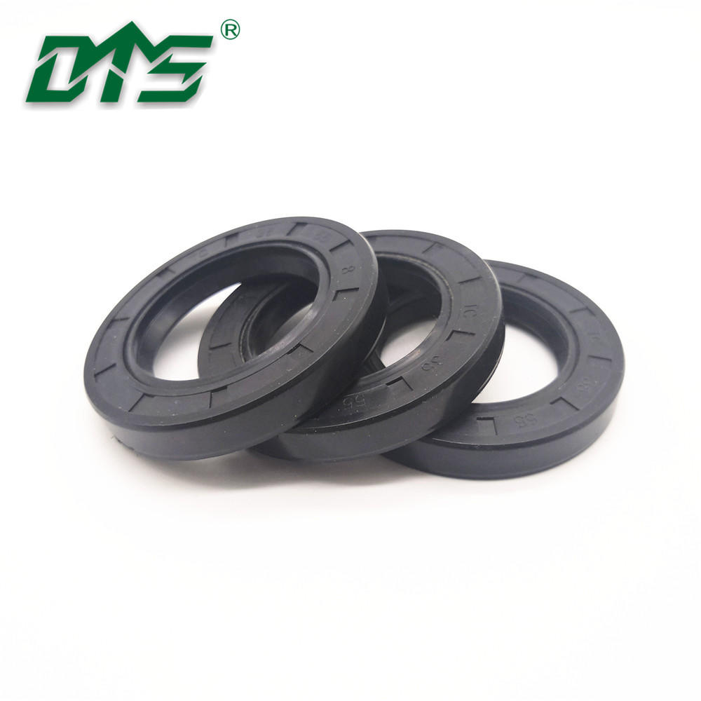 rubber covered double lip oil and grease seal for motor