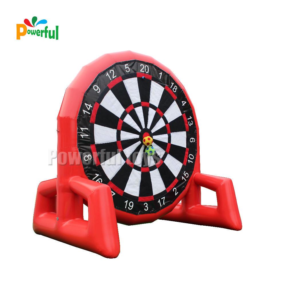 soccer ball inflatable dart game,inflatable target shooting game,inflatable football darts inflatable soccer kick games
