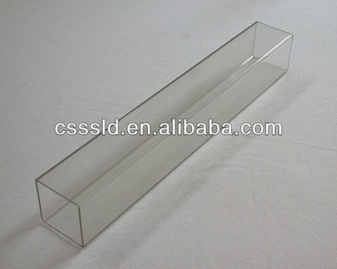 Clear plastic clip profile