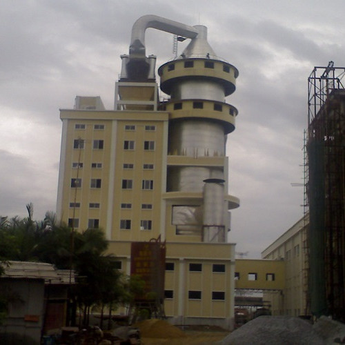 Low Cost Quartz Sand Drying Line/ Spray Drying Tower Machine/ Rotary Kiln Equipment for Drying Process