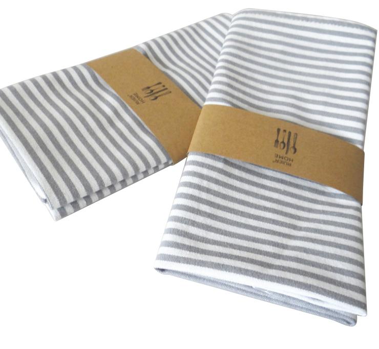 Custom design cotton digital printed kitchen tea towel