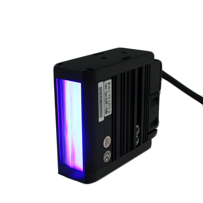 Infrared edge inspection High Density LED Array AI Machine Vision Lighting LED UV 365nm Line Scan Light for visual inspection