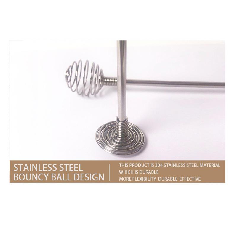 Hair Dye Cream Mixing Stirrer Stainless Steel Barber Hairdressing Whisk Blender Styling Tools