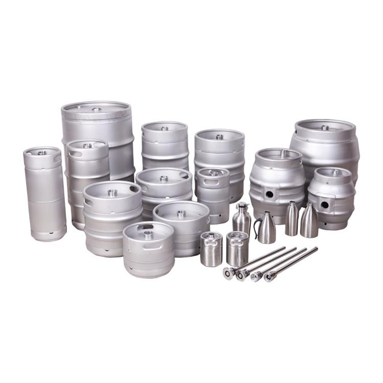 Food grade euro wholesale small mini draftplastic 5 liter 15l5l 50 liter mini growler keg beer