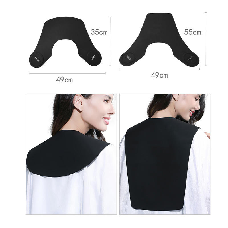 Professional High Quality Custom Salon Silicone Master Barber Collar Haircut Shawl