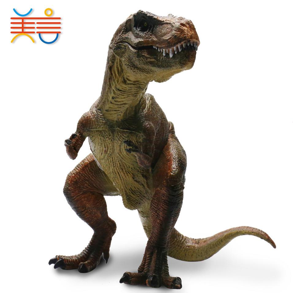 12pcs plastic 5'' PVC dragon toy for kids