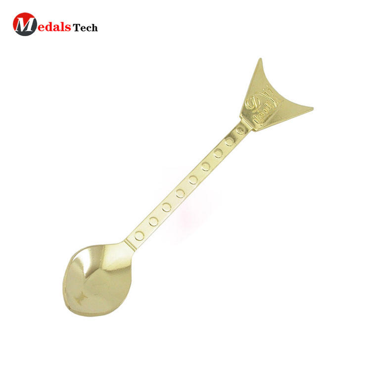 Personalized Manufacturer Custom Fancy Nickel Free Metal Spoon For Child