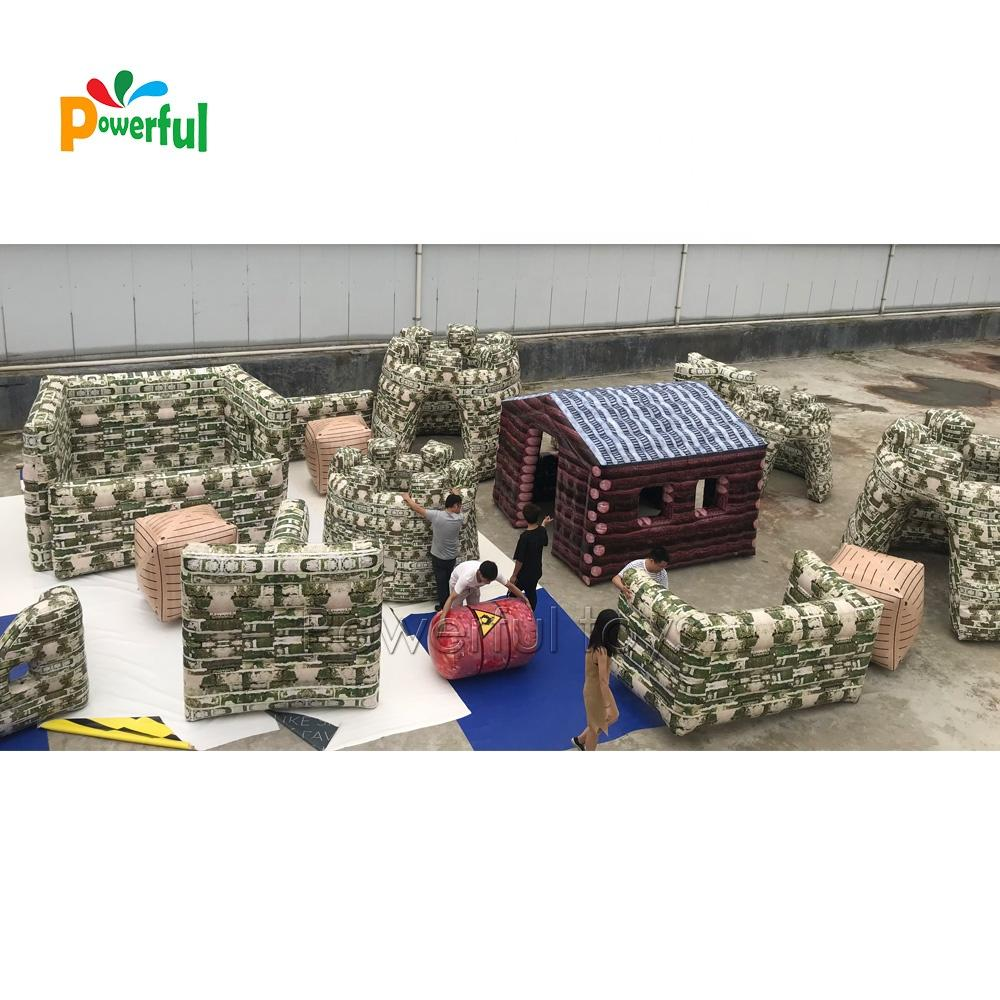 2019 hot product inflatable CS game paintball bunkers air bunker tag