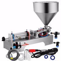 Single head Semi Auto liquid paste filling machine cream honey juice water packing machine bottle filling machine 50-500ML