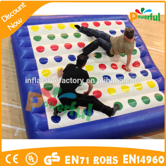 giant inflatable sports games 4 in 1 twister playgrounds