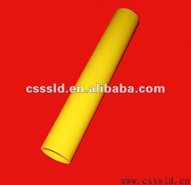1cm plastic pvc triangle tube