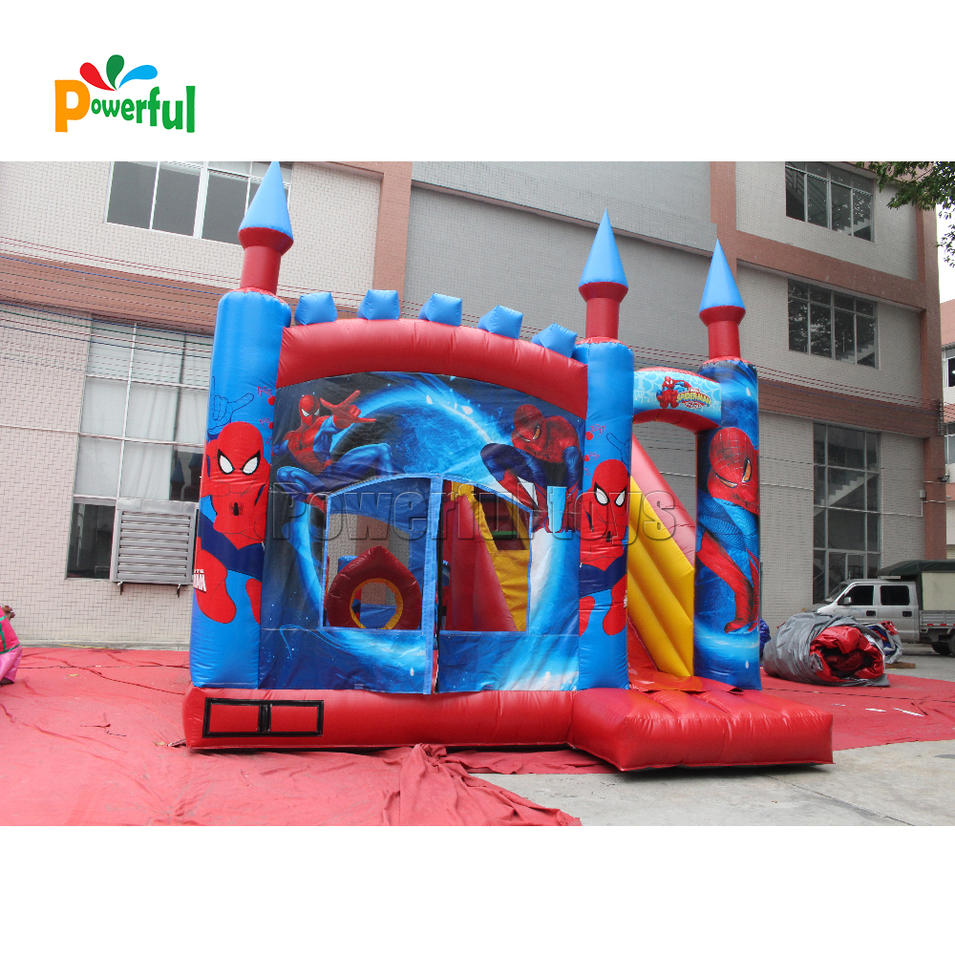 spiderman christmas inflatable mini combo jumper