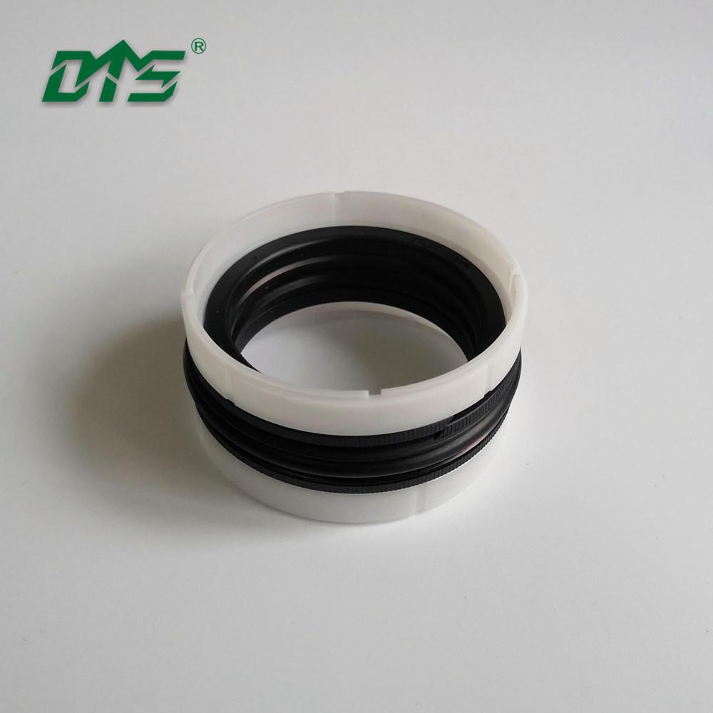 Hydraulic piston ring compressor seals/Piston rod seal