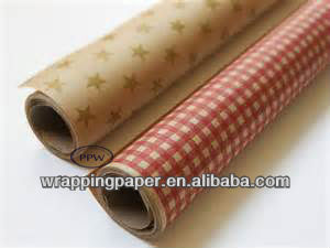 80gsm brown kraft paper for wrapping with printing