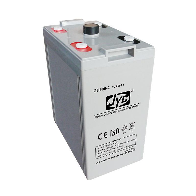 Maintenance Free Sealed Solar Gel Battery 2v 600ah Deep Cycle Battery for Solar/Telecom System
