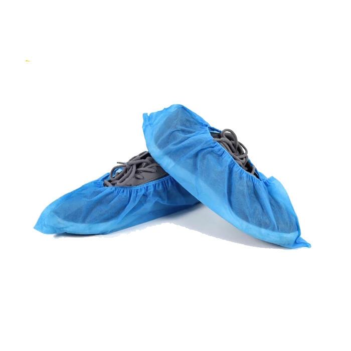 Hot sale PolypropylenePP colorful Medical disposable non woven shoecover