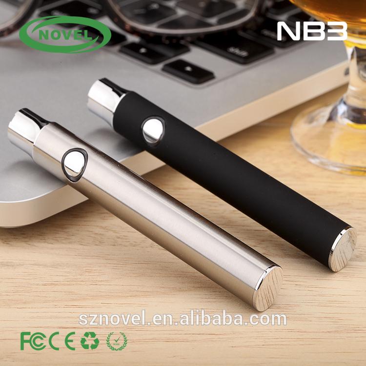 best selling consumer products 510 thread vaporizer pen battery cbd vape 400mah slim push button NB3 battery pen vape battery