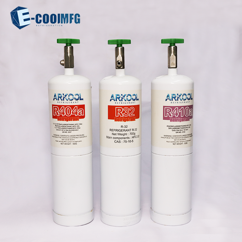EU STANDARD REFRIGERANT GAS WITH REFILLABLE CYLINDERS R134A