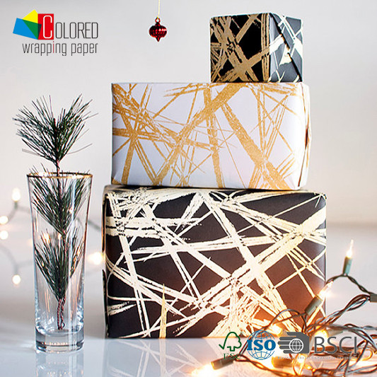 Various Fashionable Printing Custom Gift Wrapping Paper Manufacturer