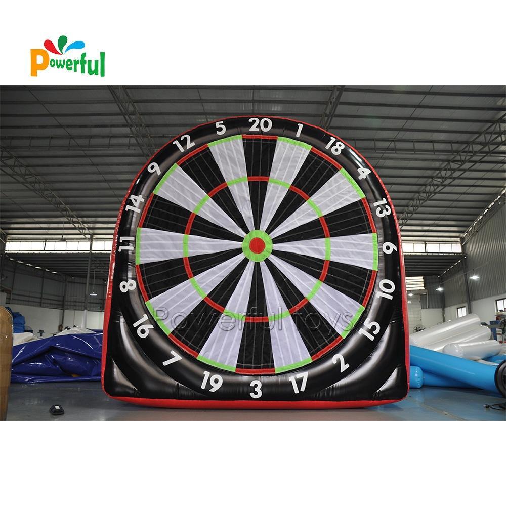 Single wall inflatable golf dartboard giant kick dartboard