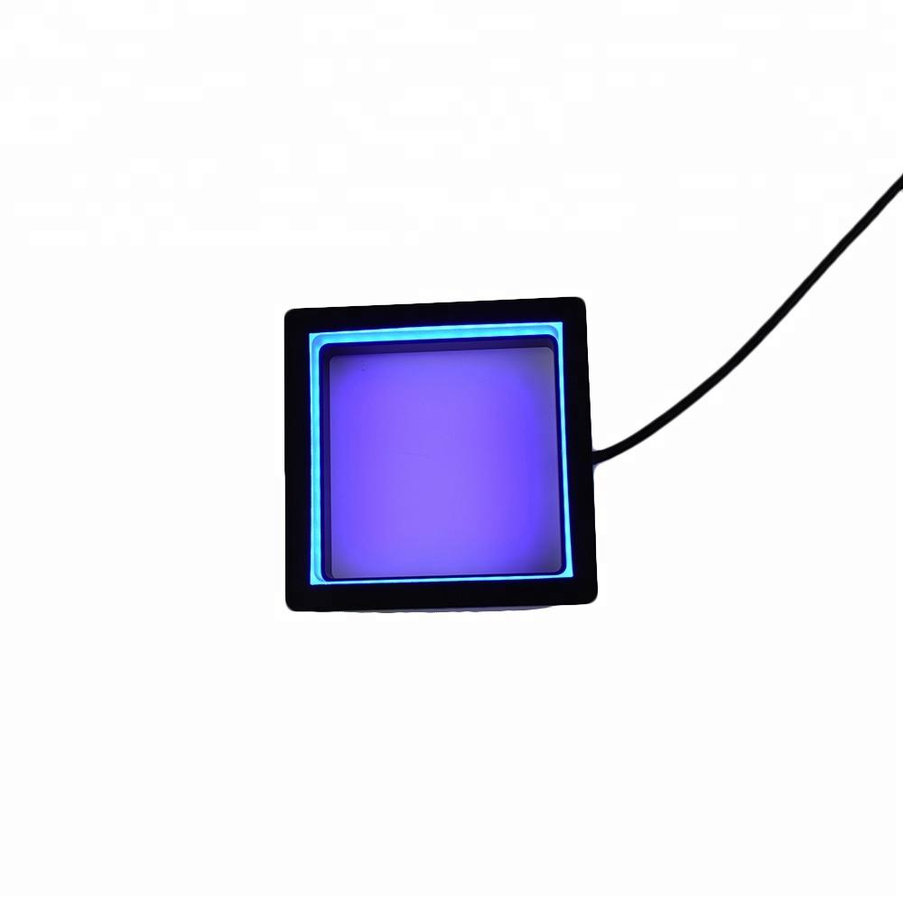 Shadowless square machine vision system light inspection for industry