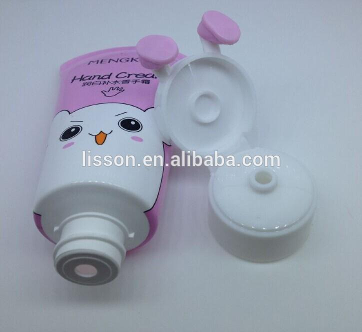 hand cream cosmetic tube plastic containers for cute design
