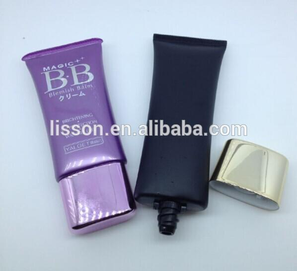 Professional Manufacturer Empty Oval Shaped Plastic Packaging Tubes/Cosmetic Tubes Packing for Makeup Sets