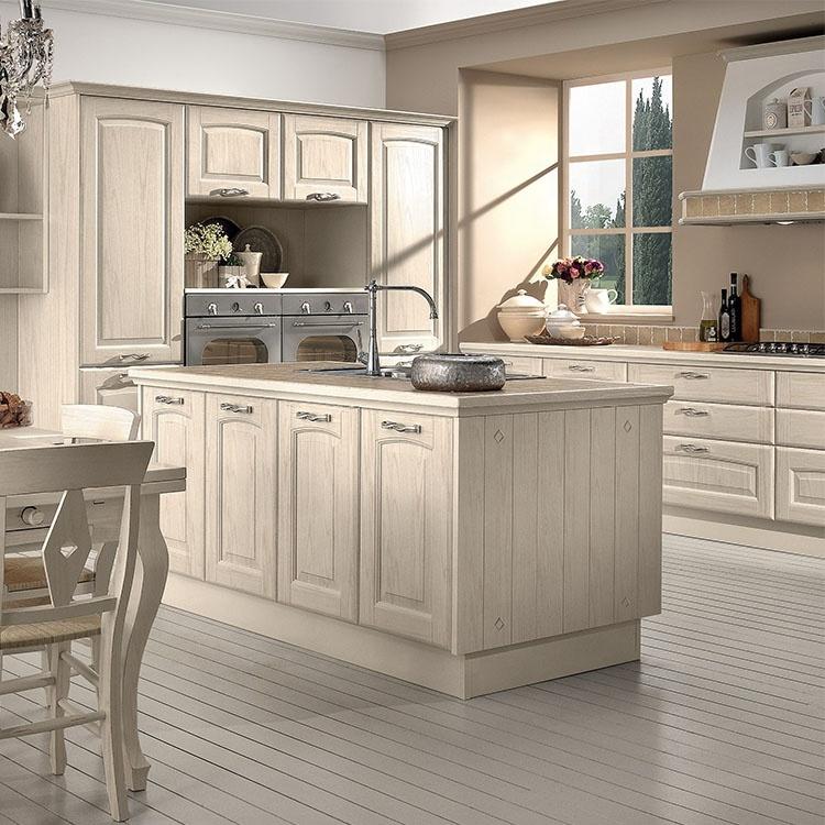 Home Improvement Non Combustible Materials White Oak Kitchen Cabinet