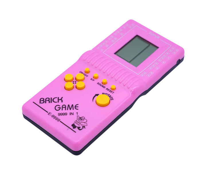 Factory Direct sale hand held game console player game Mini Handheld Video tetris Game Console birthday present for kids