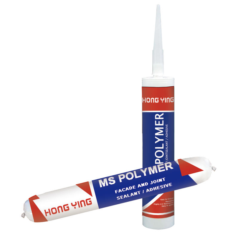 Waterproof paintable ms polymer adhesive