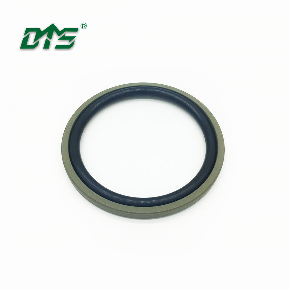 MOS2 filled PTFE hydraulic piston seal glyd ring DPT