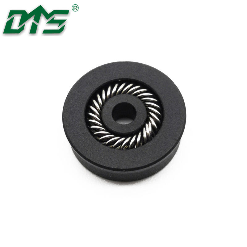 High PerformancePTFE Carbon Glue Dispenser Spring Energized Seal For Hydraulic