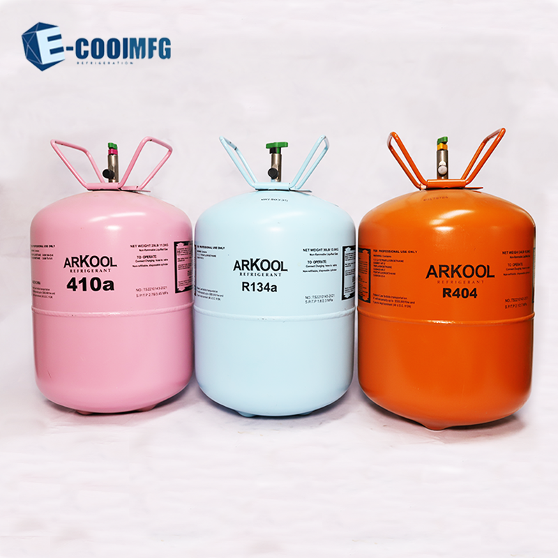 High purity refrigerant gas R410a from factory