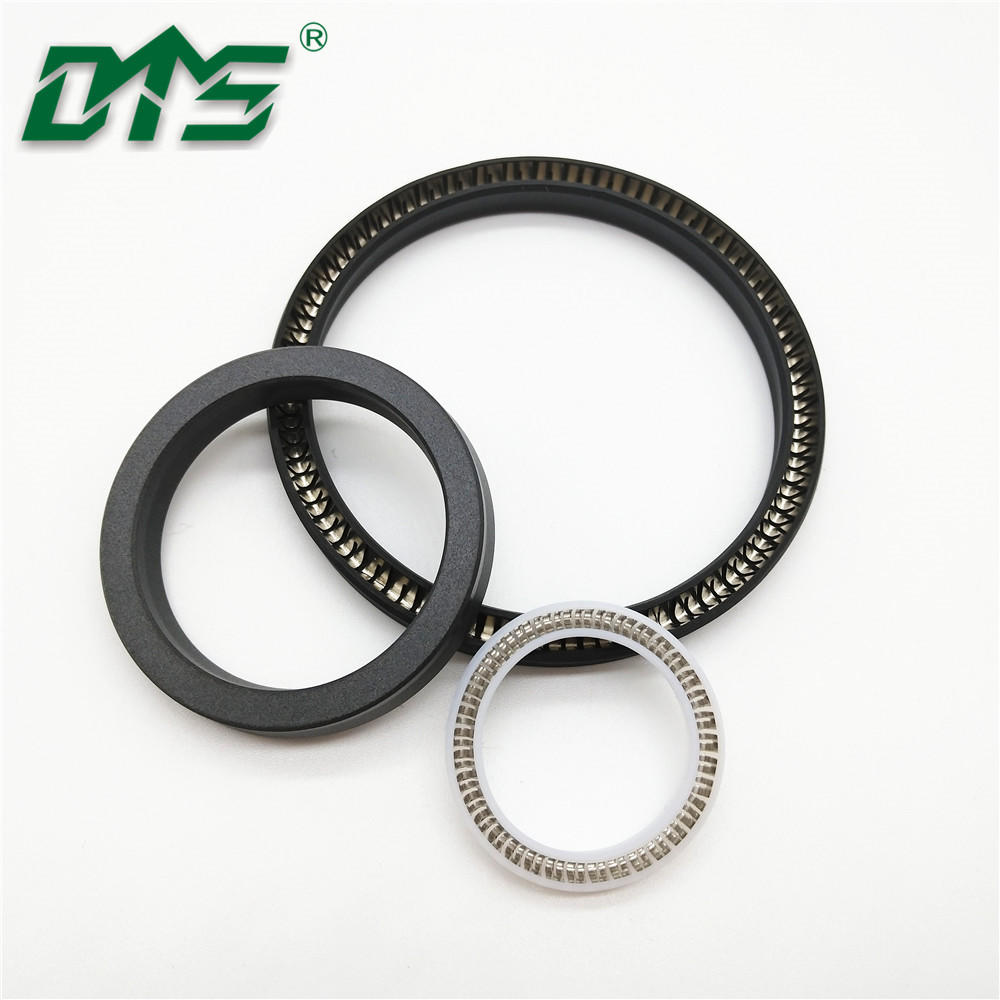 Carbon Filled PTFE loaded Lip Seals Spring Energized C Seal