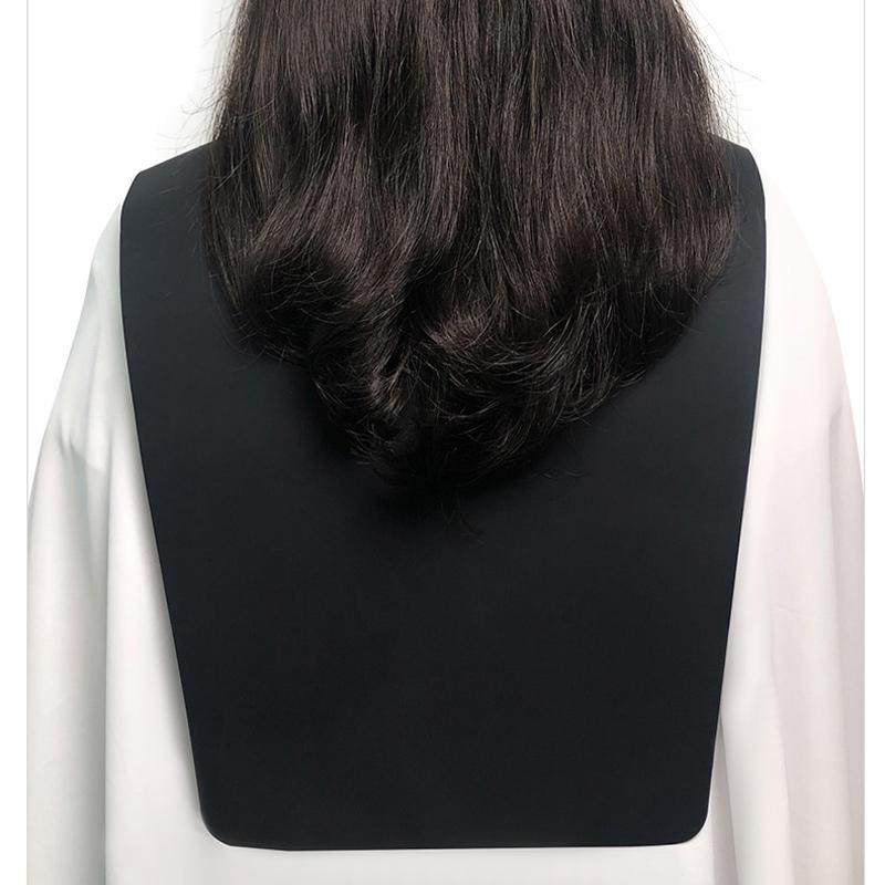 New Arrival Custom Master Salon Silicon Haircut Shawl BarberCollar