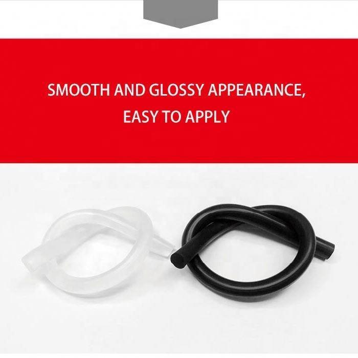 280ml 600ml Acetic Weatherproof Multipurpose Silicone Glass Glue For Door Kitchen Toilet And Aquarium