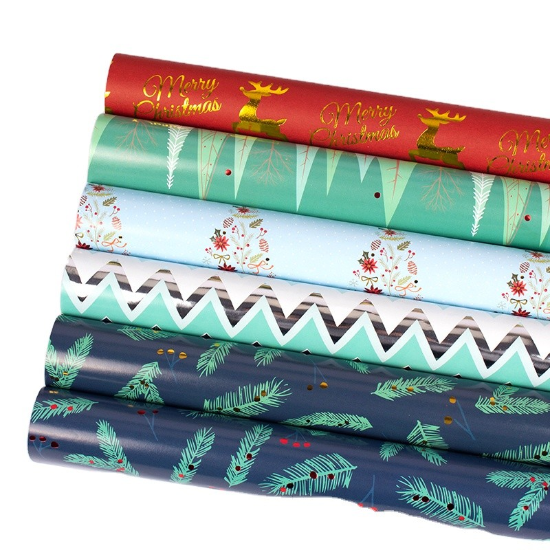 2021 Luxury Printing Kraft Wrapping Paper Sheet Recycled Paper Wholesale