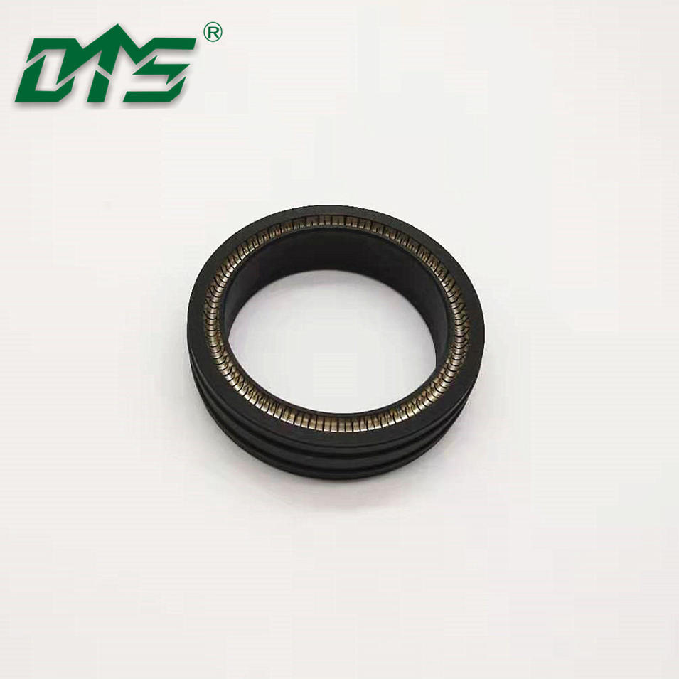 carbon/bronze/glass filled ptfe spring loaded vari seal