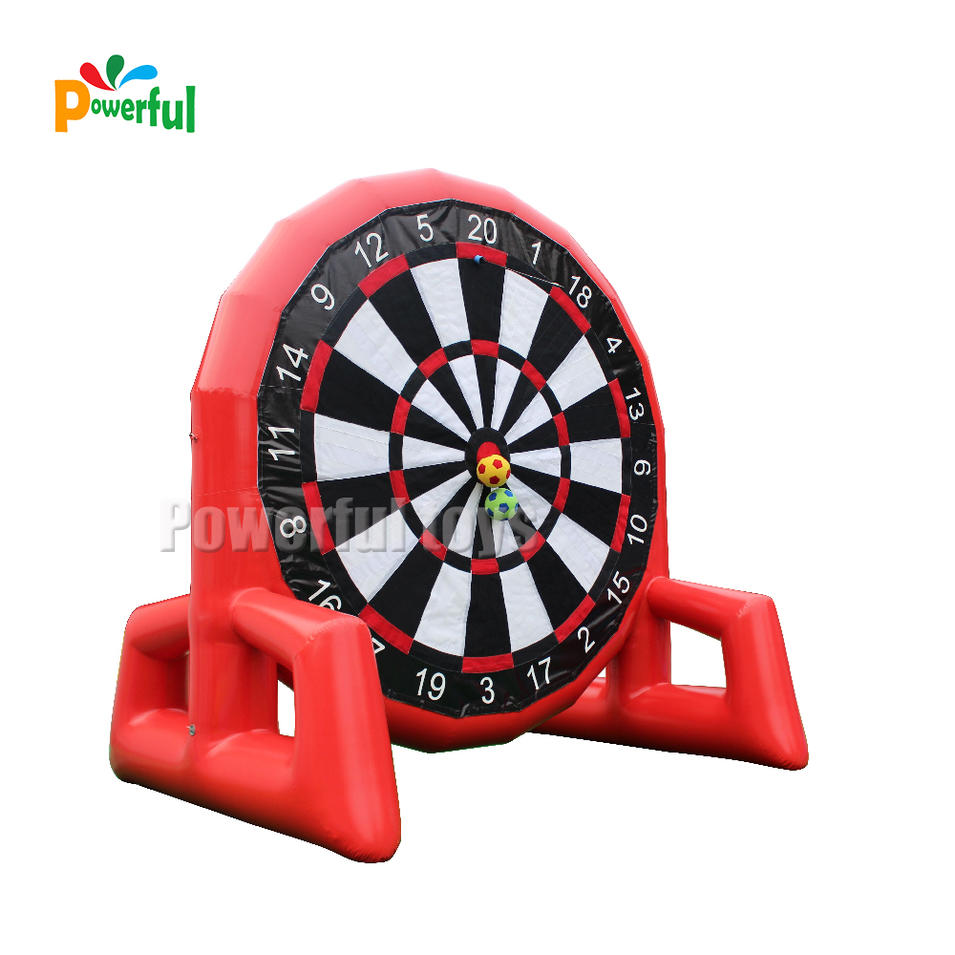 inflatable dart game,inflatable football shooting board,inflatable archery game