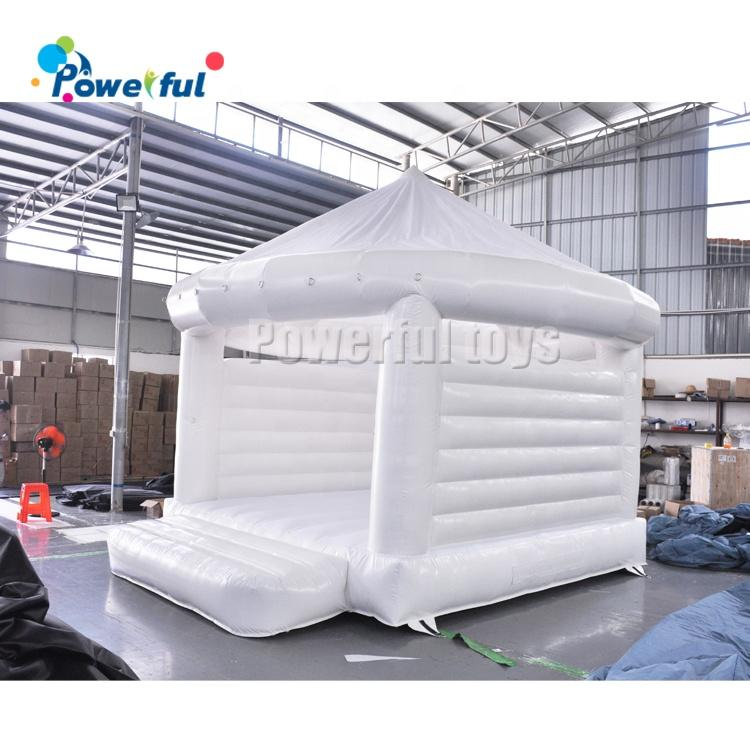 Outdoor White Wedding Tent Inflatable Bouncy House for Wedding/Ceremonies/Party