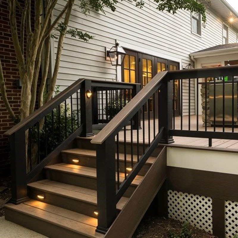 Classic Design Outdoor Decoration Stairs ladder Handrail