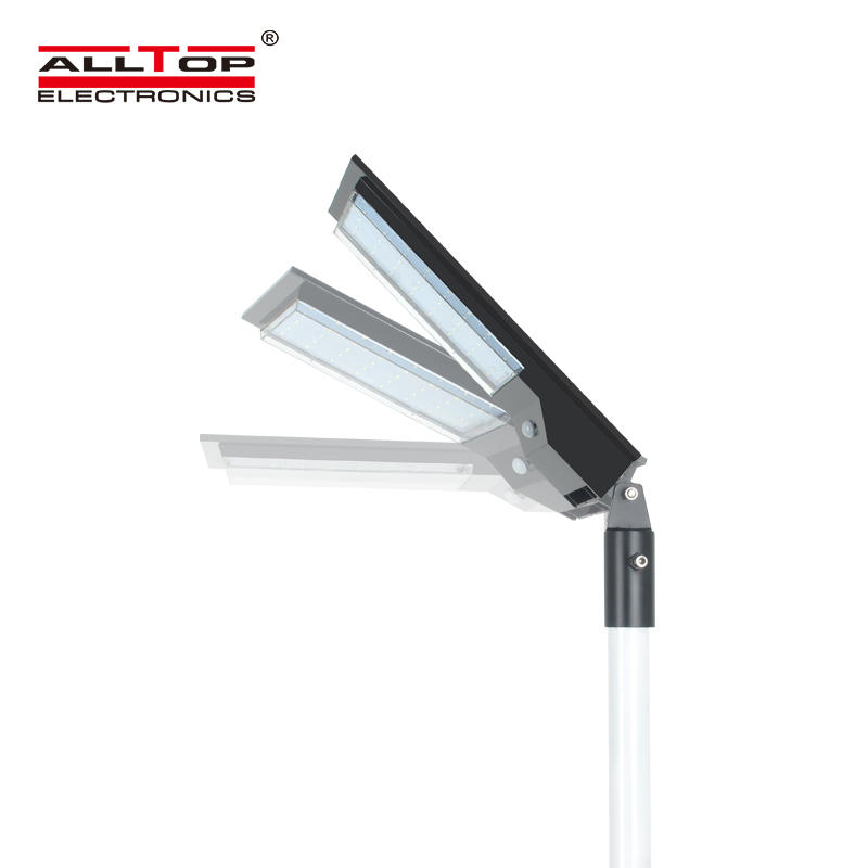ALLTOPIP65 Waterproof solar charging Adjustable Angle Energy Saving 9w 14w All In One Solar Led Street Light
