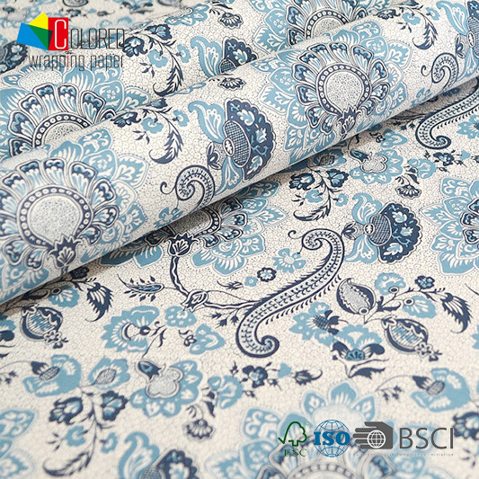 Italian Style Art Design Printing Gift Wrapping Paper OEM