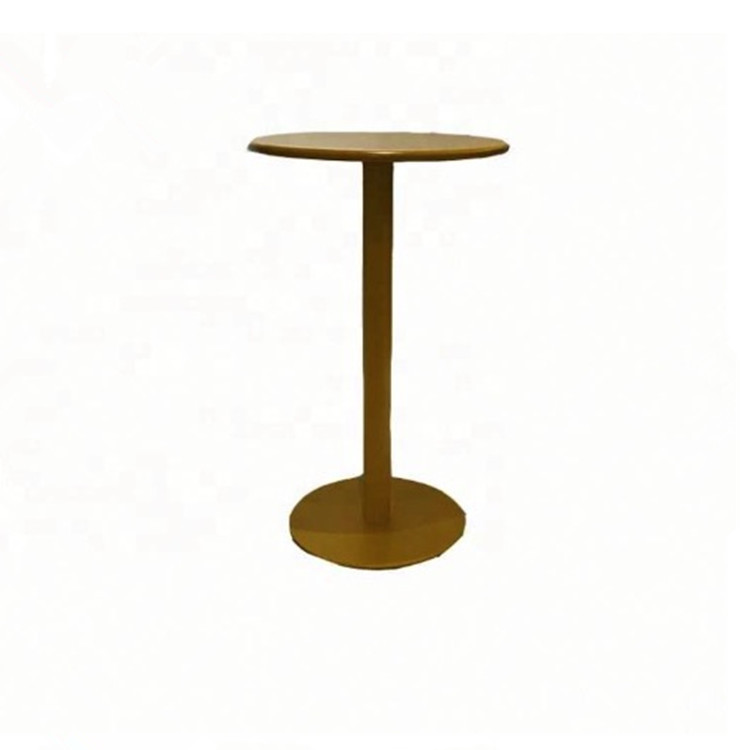 MCI hot sale small round furniture aluminum bar cocktail table coffee table for bar