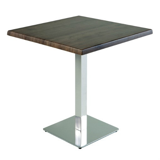 Modern customized wholesale wood restaurant tables with nail edge