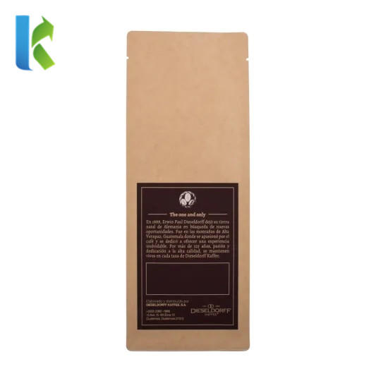 Factory Wholesale Customized Printing Aluminum Foil Stand Up Bag for Coffee