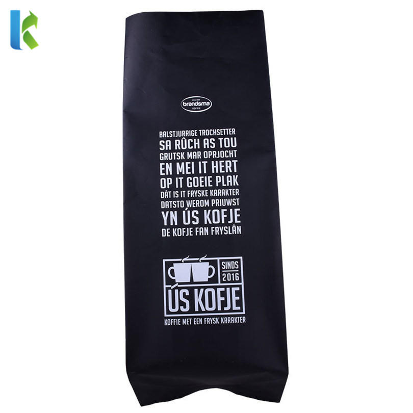 Food GradeHot Sale Factory Best Price Custom Printed Side Gusset Coffee Bag with Valve