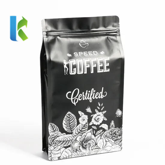 high quality safety custom printed stand up pouch coffee packaging bags