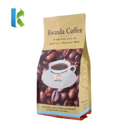 factory food grade custom printed coffee packaging bag