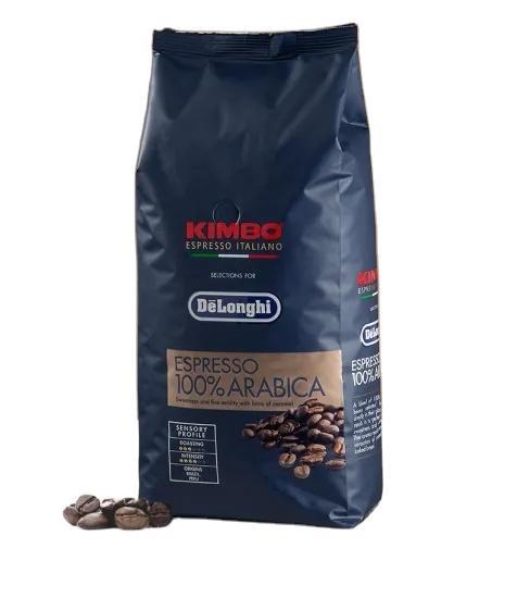high quality food grade custom printing stand up flat bottom coffee bag